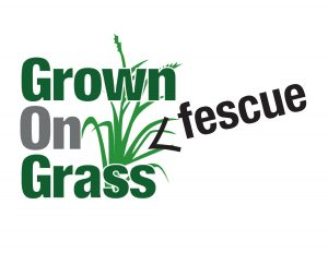 Logo for Grown On Grass